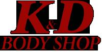 K&D Body Shop, Three Rivers, MI Logo